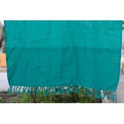 Baby šátek zelené pruhy