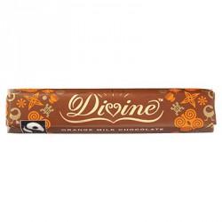Čokoládová tyčinka Divine, pomeranč