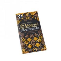 Čokoládová tyčinka Divine, extra hořká