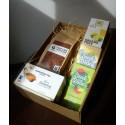 Žlutozelený dárkový balíček